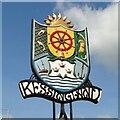 TM5286 : Kessingland village sign by Adrian S Pye