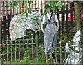 SJ9893 : Primary School Scarecrows (2) by Gerald England