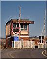 SD8022 : East Lancashire Railway, Rawtenstall West Control Box by David Dixon