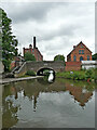 SK2001 : Watling Street Bridge at Fazeley Junction in Staffordshire by Roger  Kidd