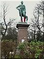 SE2934 : The Duke of Wellington's statue, Woodhouse Moor by Stephen Craven
