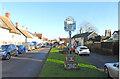 TM1065 : Mendlesham village sign by Adrian S Pye