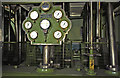 TA0434 : Cottingham Pumping Station - steam engine, gauge board by Chris Allen