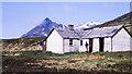 NN5276 : Culra bothy in 1987 by Trevor Littlewood