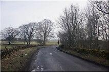 NT2756 : B6372, Mount Lothian by Richard Webb