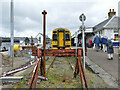 NG7627 : Rail terminus, Kyle of Lochalsh by Stephen Craven