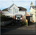 SO4107 : Andrew Bayliss salon in Raglan, Monmouthshire by Jaggery