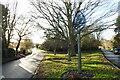 TL9759 : Rattlesden village sign by Adrian S Pye