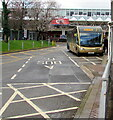 ST2995 : Hollybush bus in Cwmbran Bus Station by Jaggery
