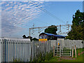 SP3394 : West Coast Main Line near Hartshill in Warwickshire by Roger  Kidd