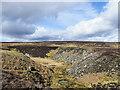 NZ0126 : Upper valley of Spurlswood Beck by Trevor Littlewood