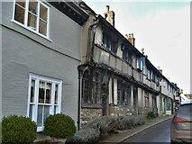 ST6601 : Cerne Abbas houses [1] by Michael Dibb