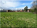 SO8351 : Manor Farm, Powick by Philip Halling