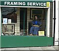 SJ9594 : Mona Lisa on Market Street by Gerald England