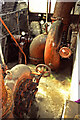 SK2083 : Bamford Mill - water turbines by Chris Allen