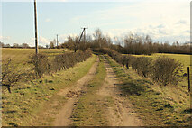 SE9304 : Bridleway to Manton by Richard Croft