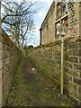 SE2039 : Footpath west from New Road Side, Rawdon by Stephen Craven