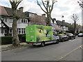 TQ1981 : Ocado grocery delivery van, West Acton by David Hawgood