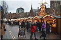 SJ8398 : Christmas Market, Albert Square by N Chadwick