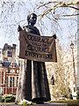 TQ3079 : Westminster : Millicent Fawcett statue by Julian Osley