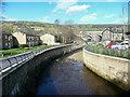 SE0125 : New channel for Cragg Brook, Mytholmroyd by Humphrey Bolton