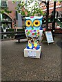 SP0586 : The Big Hoot - Brindley Place - Percy Pertemps Owl by thejackrustles
