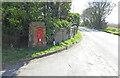 TL7355 : Unique Victorian post wall-box by Adrian S Pye