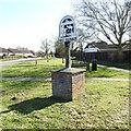 TM0197 : Great Ellingham village sign by Adrian S Pye