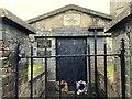 C4515 : Vault, Glendermott Church by Kenneth  Allen