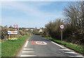 SP1403 : 30 mph in Quenington by Des Blenkinsopp
