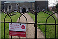 SP6183 : Through the gate to St Andrew's Church, North Kilworth by Stephen McKay