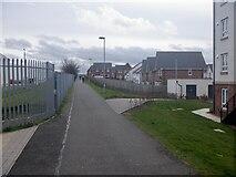 NT3071 : Jewel - Fort Kinnaird path by Richard Webb