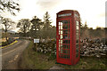 ND0730 : Public Telephone Box at Braemore, Caithness by Andrew Tryon