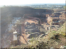 ST1282 : Taffs Well Quarry by Gareth James