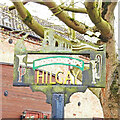 TL6298 : Hilgay village sign by Adrian S Pye