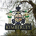 TG0704 : Kimberley village sign by Adrian S Pye