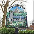 TM0099 : Little Ellingham village sign by Adrian S Pye