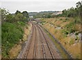 NH7145 : Railway line, by Smithton by Craig Wallace