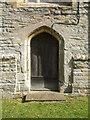 ST3638 : Priests' door of St Francis by Neil Owen