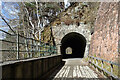 NJ2844 : Tunnel at Tunnel Brae by Anne Burgess
