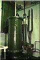 SK5852 : Papplewick Pumping Station - air pump by Chris Allen