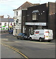 SS9079 : SWBC white van, Station Hill, Bridgend by Jaggery