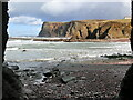 NJ8465 : Pennan Head from Mill Shore by Nigel Feilden