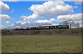 SO8074 : Train heading to Kidderminster on the Severn Valley Railway by Chris Allen