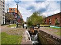 SJ8598 : Ancoats Lock No 2, Ashton Canal by David Dixon