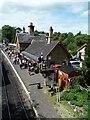 SO7679 : Severn Valley Railway - Arley Station by Chris Allen