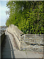 SE1422 : Looking up the footway alongside Lüdenscheid Way, Brighouse by Humphrey Bolton