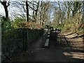 SE2037 : Ramp out of Calverley Cutting by Stephen Craven