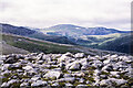 NJ0501 : Boulders at summit of Beinn a' Chaorainn Bheag by Trevor Littlewood