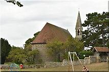 TQ9319 : Church of The Holy Spirit by N Chadwick